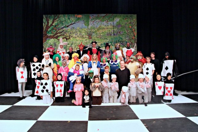 Alice in Wonderland Cast Photo - November 2012